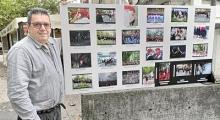 LAS FOTOGRAFÍAS SE EXPONEN  EN EL BAR DANOK ANAI